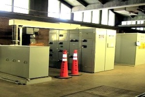 Main Pump inside pump station
