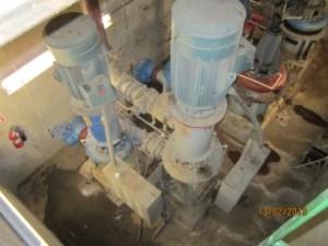 Main Pump vertical pump and motor